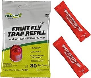 Rescue FFTA Non-Toxic Fruit Fly Trap Attractant Refill, 30 Days, attaractant