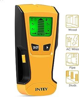 INTEY - Detector De Pared 3 EN 1 Pantalla LCD Detector De Pared para Detecta AC