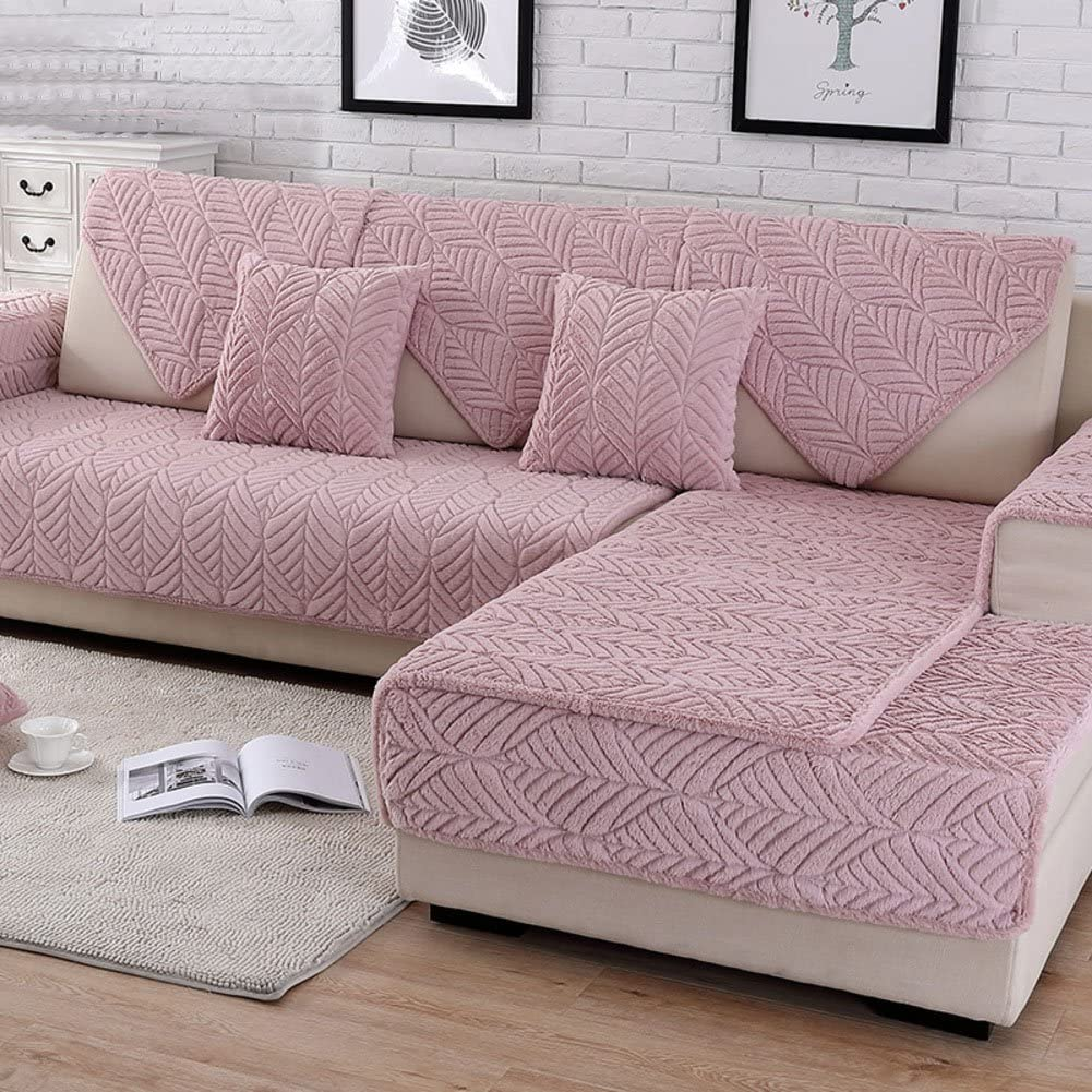 HMDX Plush Sofa Slipcover Thick Stain Quilted sold out Anti-Slip Resista Ranking TOP11