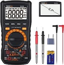 Digital Multimeter TRMS 6000 Counts, LED Intelligent Socket, Manul Ranging Measuring..