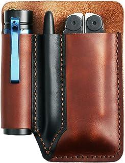 حقيبة أدوات غمد سكين جلدية يدوية الصنع من EASYANT إكسسوارات متعددة الاستخدامات