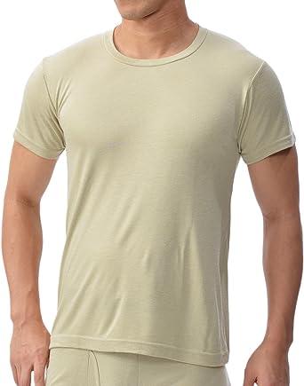 [ビー・ブイ・ディ] クルーネックTシャツ 吸湿発熱 HEAT-BIZ (中厚) 保温 防寒 GR053PS メンズ