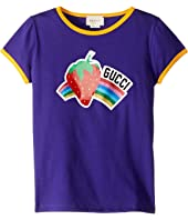 Gucci Kids - Strawberry Print T-Shirt (Little Kids/Big Kids)