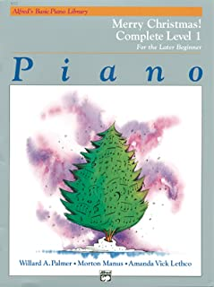 Alfred'S Basic Piano Library Merry Christmas 1: Complete