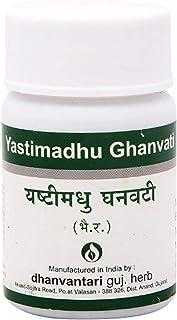 Dhanvantari Yastimadhu Ghanvati- 60 Tablets x (Pack of 2)
