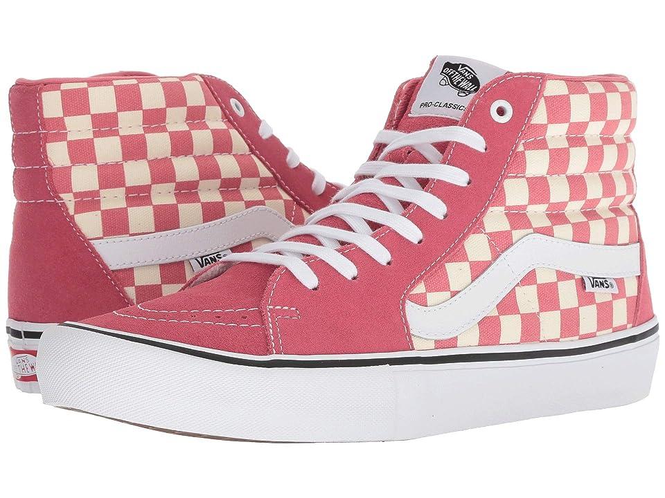 Vans SK8-Hitm Pro ((Checkerboard) Desert Rose) Men