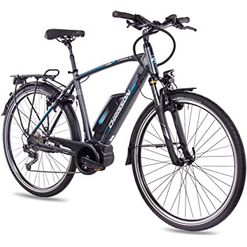 CHRISSON Bicicleta de Trekking y Ciudad para Hombre, 28 Pulgadas ...