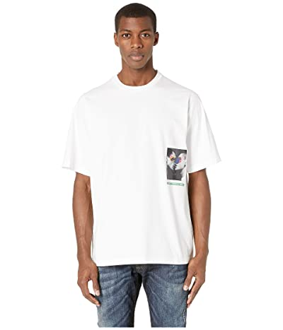 DSQUARED2 Mert Marcus Slouch Fit T-Shirt (White) Men