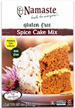 Namaste Foods Gluten Free Spice Cake Mix, 26 oz. (Pack of 6)