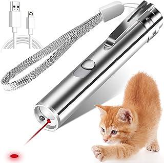 3 in 1 Laser Pen Cat Teaser Toy Rechargeable UV LED Light Torch Laser Pointer