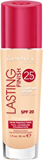 Rimmel London, Lasting Finish 25 Hour Foundation, True Ivory, 30 ml