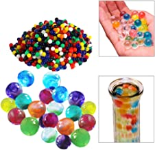Toy Cubby Adorable Colorful Crystal Water Pearls - 1000 Pearls/Beads per pack