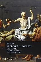 Scaricare Libri Apologia di Socrate-Critone. Testo greco a fronte PDF