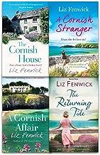 Liz Fenwick 4 Books Collection Set (The Returning Tide, The Cornish House, A Cornish Affair, A Cornish Stranger)