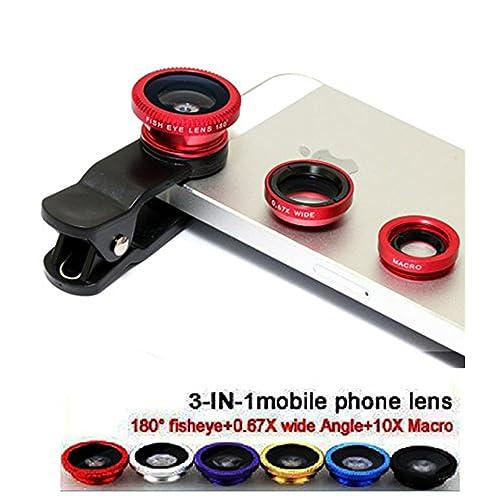 VOLTAC Clip Lens/3 in 1 Photo Lens/Camera Lens for Smartphones. Pattern #209863