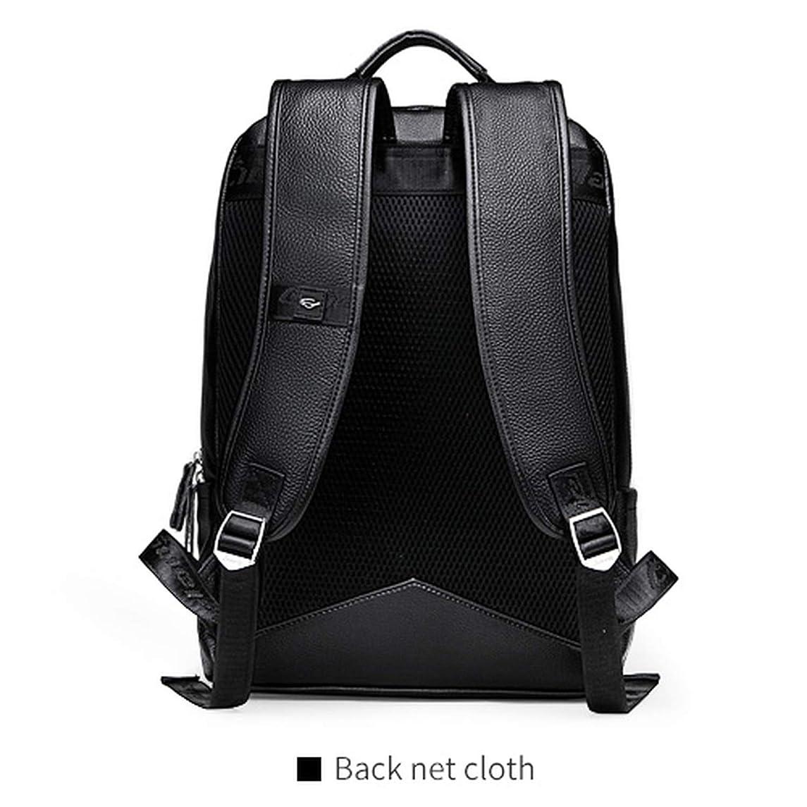 Genuine Leather Backpack Men Youth Backpacks Preppy Schoolbag Backpack Laptop Backpack Mens Travel Backpack Sack,back net cloth,China