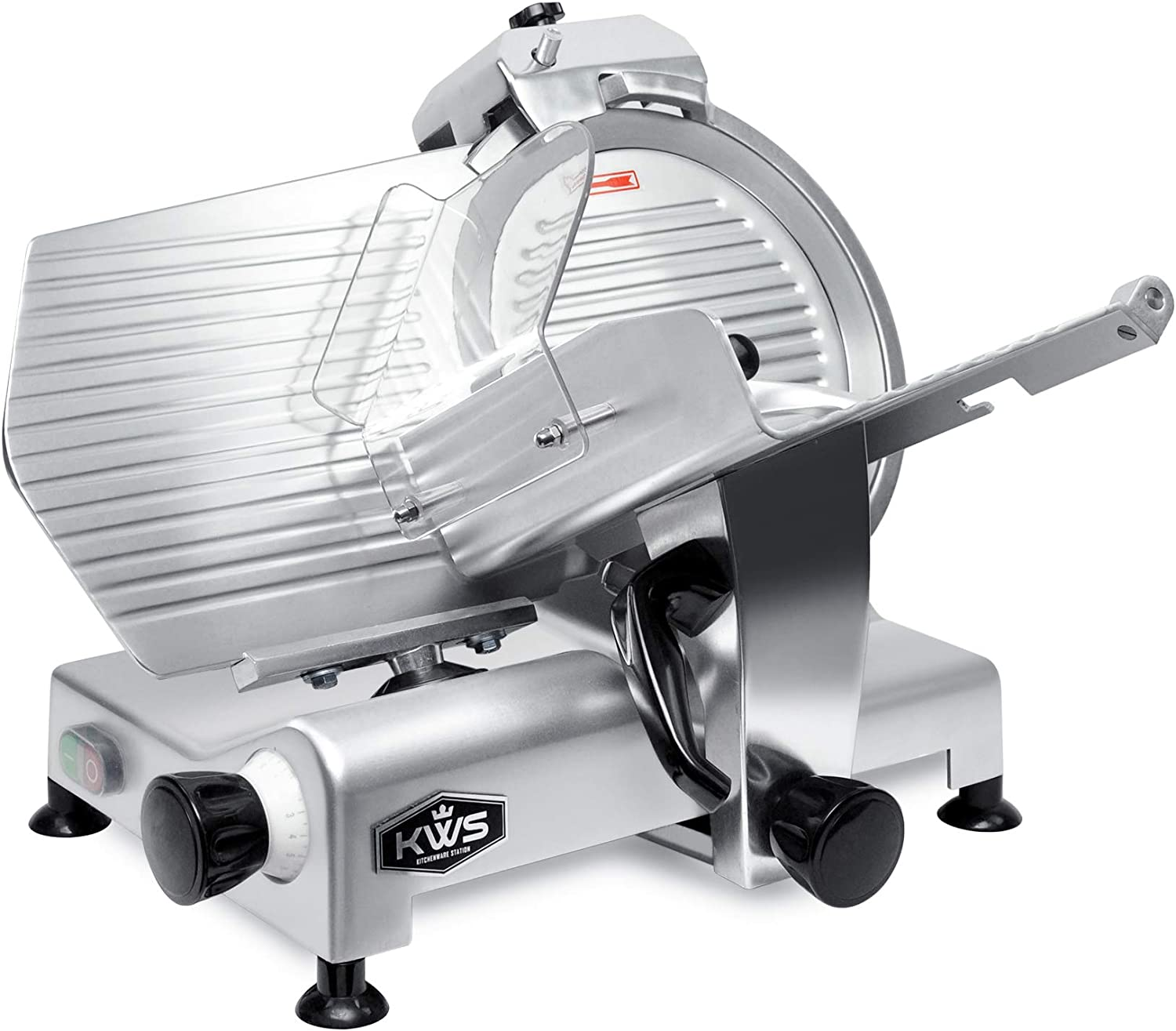KWS MS-12NS Premium Fashion Commercial 420w Electric Meat 12-Inch Recommended Slicer