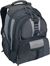 Targus Sports and Travel Standard Backpack with Compartment for 15.4-Inch Laptop, Black/Gray (TSB212)