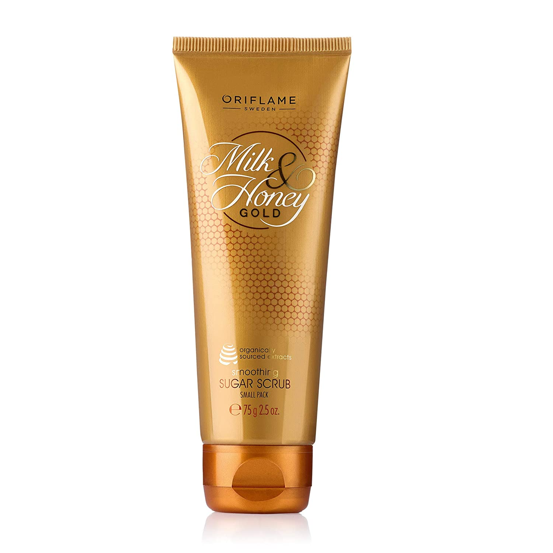 Buy Oriflame Milk And Honey Gold Sugar Scrub 20 G Online at Low ...