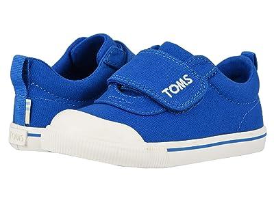 TOMS Kids Doheny (Toddler/Little Kid) (Blue Canvas) Boy