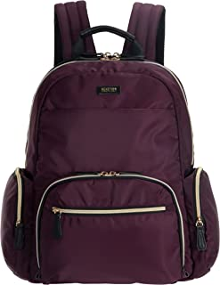 """Kenneth Cole REACTION Sophie Women's Silky Nylon 15"""" Laptop & Tablet Anti-Theft RFID Travel Backpack Bag"""