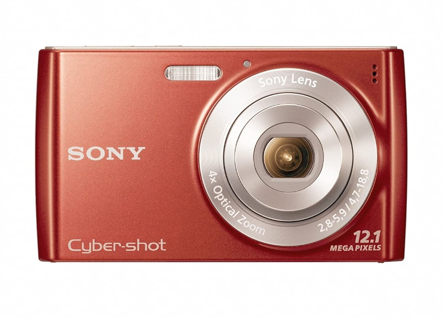 Sony Cyber-Shot DSC-W510 12.1 MP Digital Still Camera with 4x Wide-Angle Optical Zoom Lens and 2.7-inch LCD (Red)