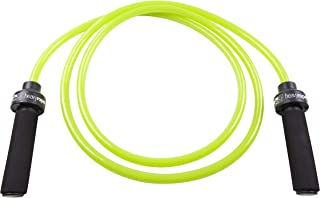 GoFit Weighted Resistance Jump Rope - Heavy,  Adjustable Fitness TrainingRope