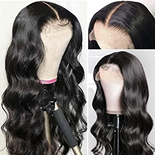 Lace Front Wig Human Hair Body Wave Wigs for Black Women Brazilian Hair 4x4 Lace Front Human Hair Wigs Pre Plucked 150% De...