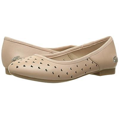 Lacoste Kids Misselle Slip 117 1 SP17 (Little Kid) (Natural) Girls Shoes