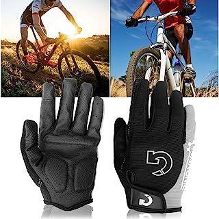 GEARONIC TM Cycling Bike Bicycle Motorcycle Shockproof Foam Padded Outdoor  Sports Half Finger Short Riding Biking 5b1753ca4
