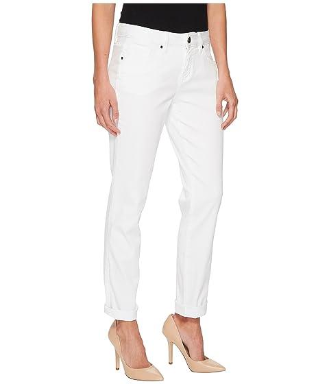 Freedom White en Jeans Jag Jeans Carter Cuffed Denim Knit Girlfriend q6zYP