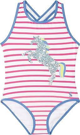 Pink Stripe Horse
