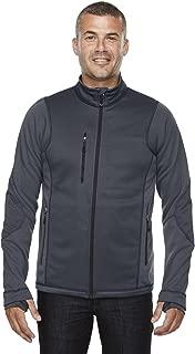 Sport Men's Pulse Textured Bonded Fleece Jacket, 3XL, CARBON 456