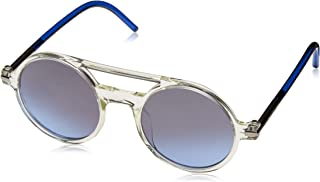 Marc Jacobs Unisex Adults' Marc 45/S I5 TMD 48 Sunglasses, (Crystal Blue/Gry-Blk SIL Sp Gr)