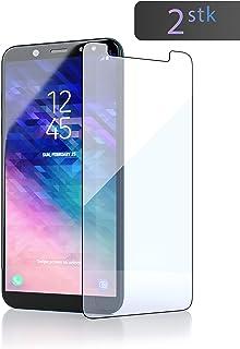 innoGadgets Cristal Templado [2X] para Samsung Galaxy A6 2018 | Extremadamente Fino, Ultra Duro[9H] y 100% Transparente | película Templado, Protector de Pantalla | fácil de aplicar sin Burbujas