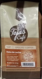 Tejas Cafe Dulce de Leche Ground Coffee 11 oz (Pack of 2)