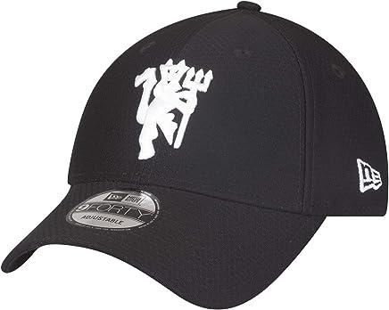 online retailer cddf1 93108 New Era Manchester United Black Hex Devil 9Forty Adjustable Adult Hat