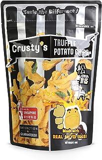 Crusty's Truffle Salted Egg Potato Chips, 100 g