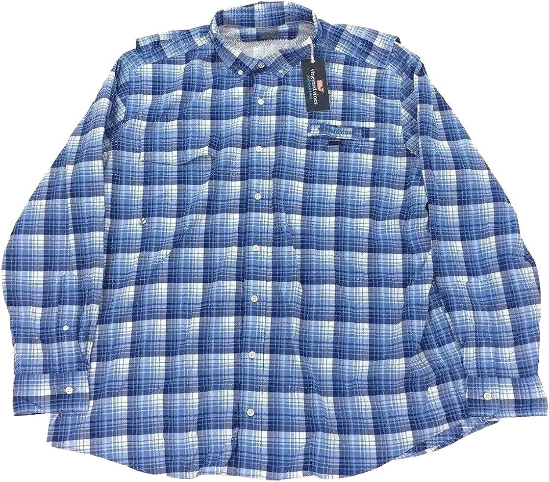 Vineyard Vines Men's Big & Tall Bighorn Harbor Shirt
