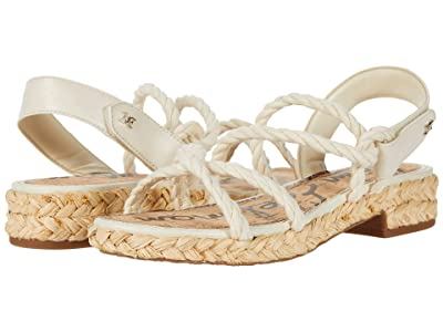 Sam Edelman Cristan (Modern Ivory Casual Rope/Butter Nappa Leather) Women