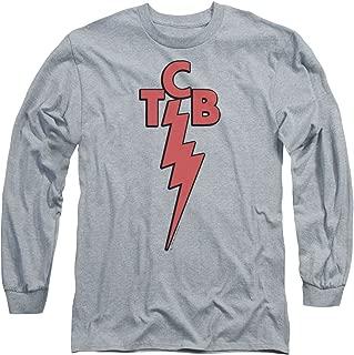 ELVIS PRESLEY The King Rock TCB Adult Long Sleeve T-Shirt Tee
