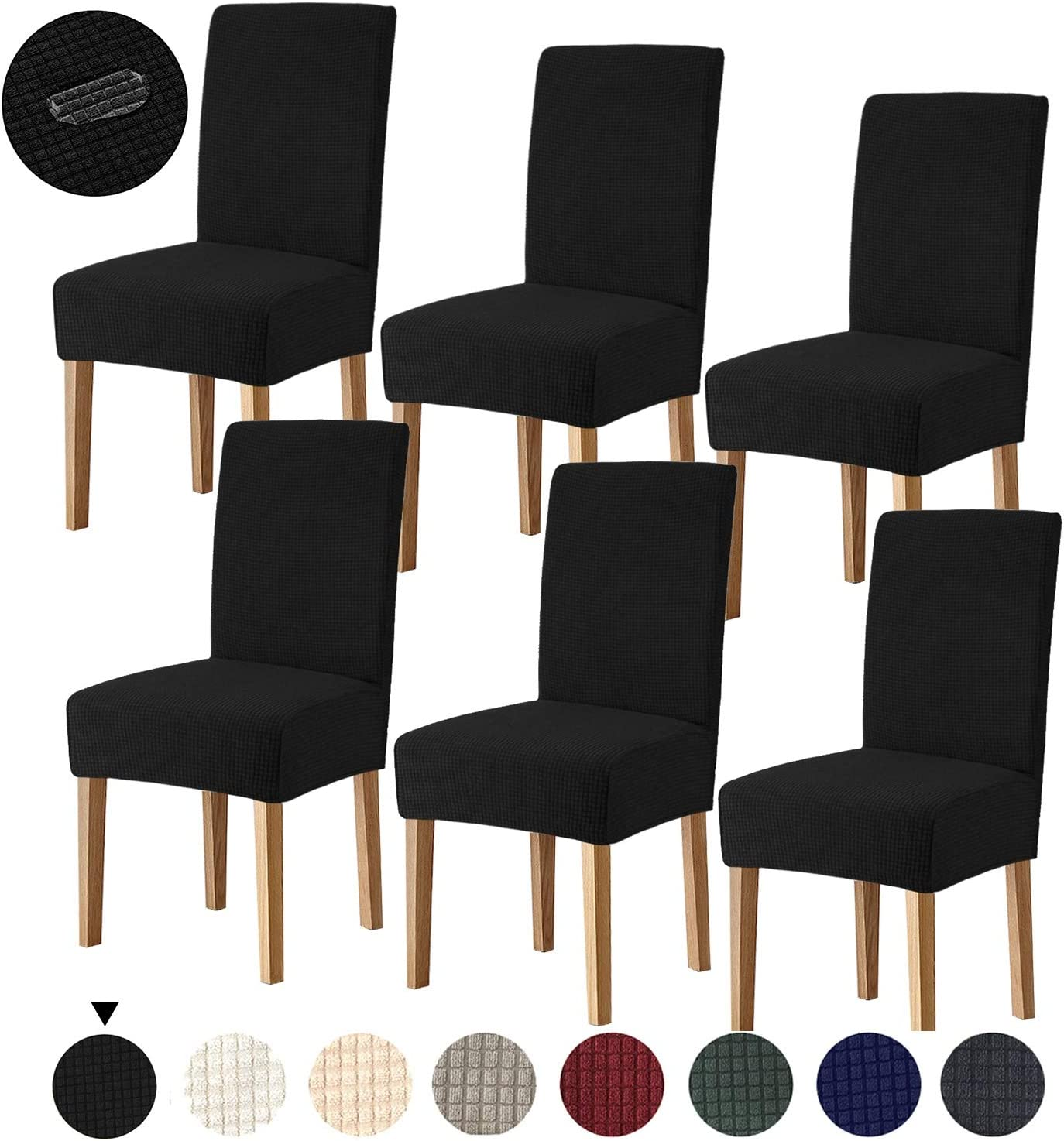 Joypea Time sale Dining Chair Covers Stretch Washable Removable No Spring new work Spandex