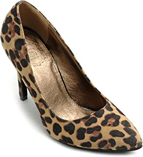 Ollio Womens 2ZM9004 Pumps-Shoes