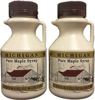 Traverse Bay Farms 100% Pure Michigan Maple Syrup - 2-8 oz. bottles