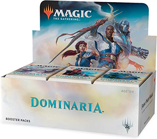 Magic The Gathering MTG-Dom-BD-EN Dominaria Boosterpackung Aufstellkarton, Mehrfarbig