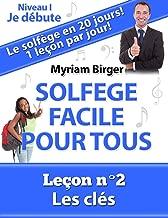 Solfège Facile Pour Tous ou Comment Apprendre Le Solfège en 20 Jours ! - Leçon N°2: Les clés (French Edition)