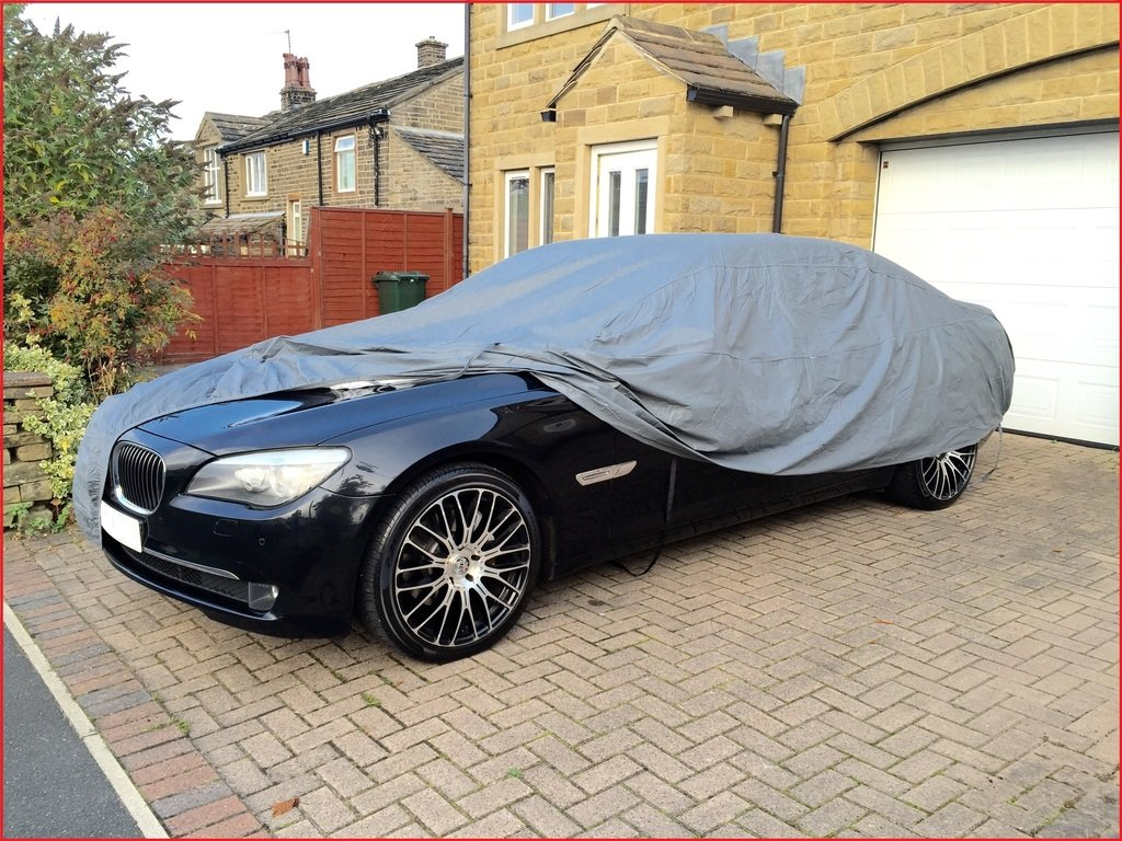 FORD MUSTANG 14 ON  INDOOR OUTDOOR FULLY WATERPROOF CAR COVER COTTON LINED HEAVY