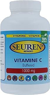 Seuren Nutrients | Vitamina C 1000 mg 100 tabletas | Tamponado C | Ester C | Tamponado