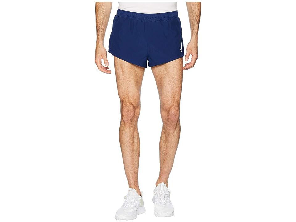 Nike Fast Shorts 2 (Blue Void/Gym Blue) Men