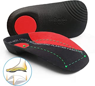 LIFANG Orthotic Shoes Accessories Insoles Hard Arch Support 3.5cm Half Shoe Insoles For Shoes Sole Fixed Heel Orthopedic P...